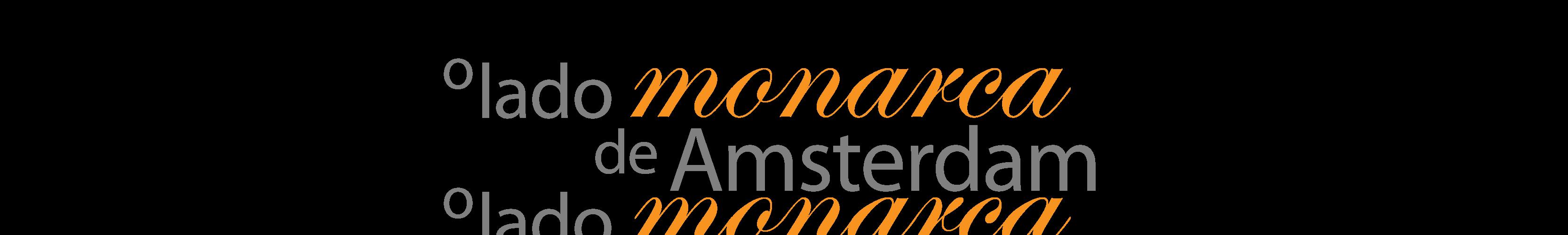 O lado monarca de Amsterdam.