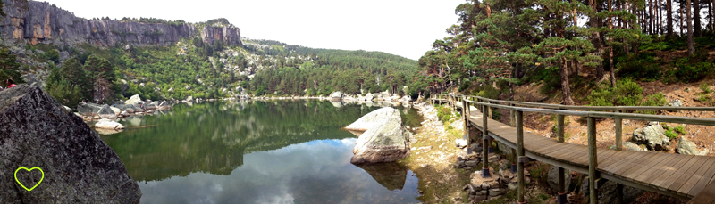 Imagem da Laguna Negra