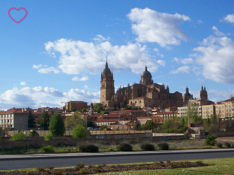 A Catedral Vieja ao longe.