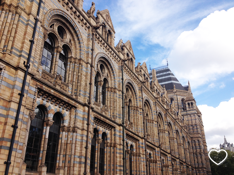 Fachada do Natural History Museum.