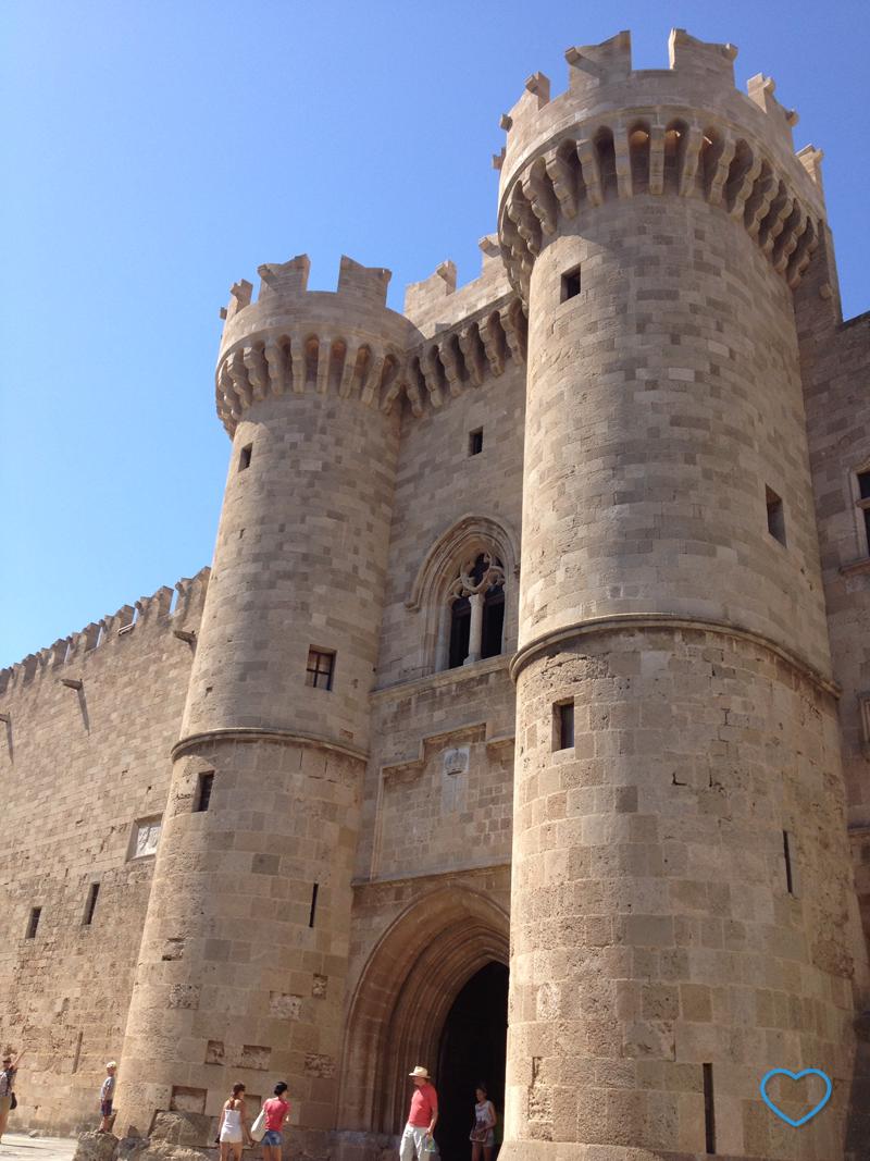 O Castelo do Grão-Mestre.